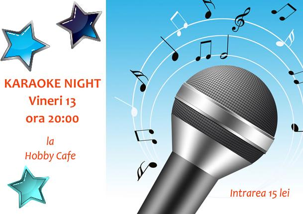 Karaoke night la Hobby Cafe