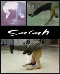 Salah, cel mai bun dansator din lume, vine in Romania!