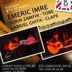Trio Emeric Imre in Club Mojo