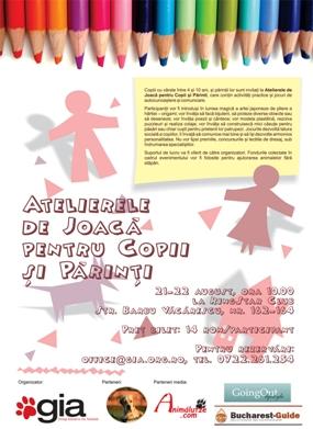 ateliere copii Atelierele de Joaca pentru Copii si Parinti