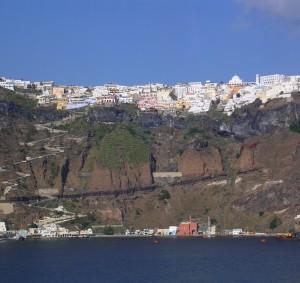 Vacanta pe insula Santorini