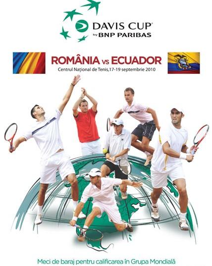 Meciul de Cupa Davis Romania – Ecuador