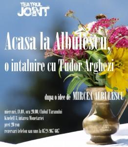 mircea albulescu 262x300 Acasa la Mircea Albulescu, intalnire cu Tudor Arghezi
