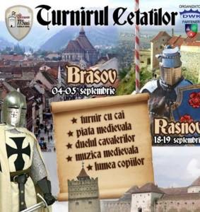 """Festivalul medieval """"Turnirul Cetatilor"""""""