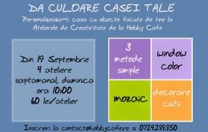 Atelier de Creativitate la Hobby Cafe