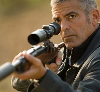"George Clooney in ""Americanul"""