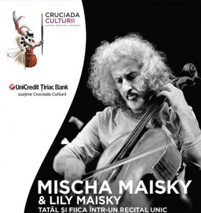 Cruciada culturii – recital Mischa si Lily Maisky